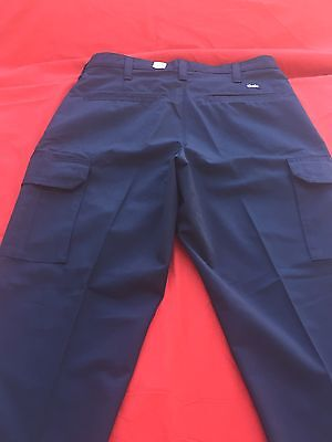 Cintas Comfort Flex Navy Blue Cargo Pants Size 38x29  #270-20 Loose Fit