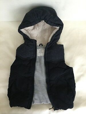 Zara Boy Herrringbone Vest - 2-3 Years