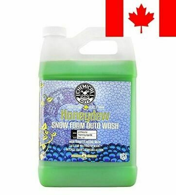 Chemical Guys - Honeydew Snow Foam Car Wash Soap and Cleanser (1 Gal)