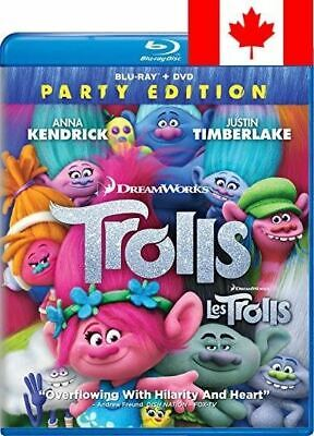 Trolls (Bilingual) [Blu-ray + DVD + Digital Copy]