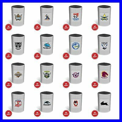 NRL Novelty Rugby Ball Can Cooler - Select Team