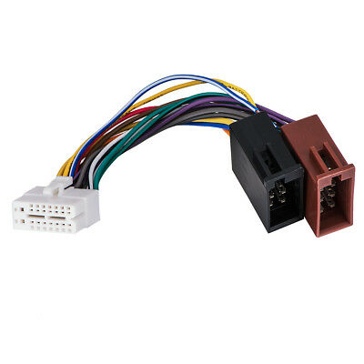 clarion 16 pin stereo radio wire harness power plug back clip cdaps ny shipping clarion 16pin stereo radio iso wire harness skcl16 21 iso