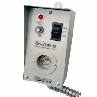 """Reliance Controls TF151W Easy/Tran TF Transfer Switch with 18"""" Aluminum Conduit"""