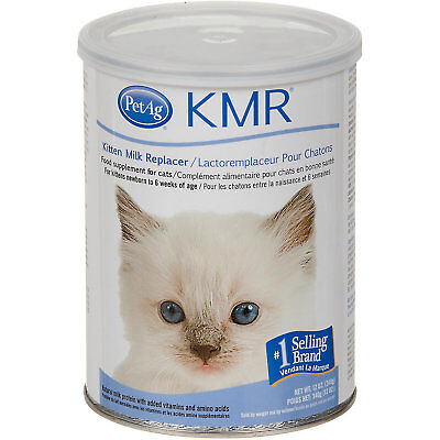 PetAg KMR Milk Replacer Powder for Kittens with Prebiotics and Probiotics 12 oz