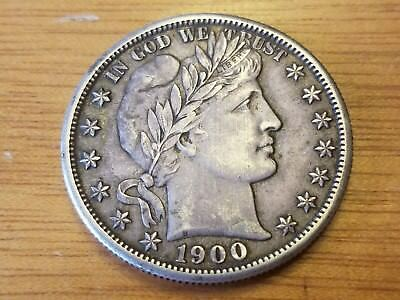 1900 S San Francisco 50 C Silver Barber Liberty Half Dollar Liberty Circulated