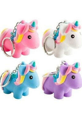 Animolds PooPoo Unicorn Keychains 4 fun Colors to Choose From