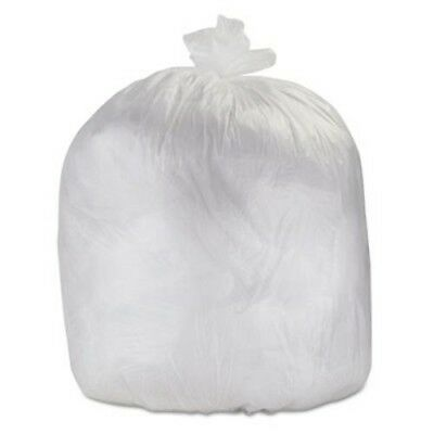 33 Gallon Clear Trash Bags, 43x48, 22mic, 250 Bags (ESXHDX40CLR)