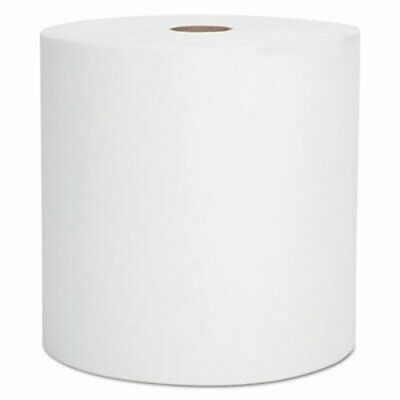 Scott 800 ft White Hard Roll Towels, 12 Rolls (KCC 01040)