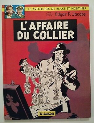 BLAKE ET MORTIMER ** TOME 9 L AFFAIRE COLLIER ** 1982 ( 9f ) JACOBS