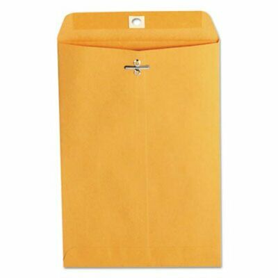 Kraft Light Brown Clasp Envelopes, 6 1/2 x 9 1/2, 100 Envelopes (UNV35261)
