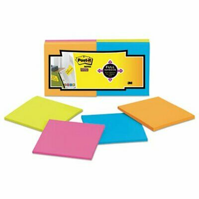 Post-it Super Sticky Full Adhesive Notes, 3 x 3, 12 Pads (MMMF33012SSAU)