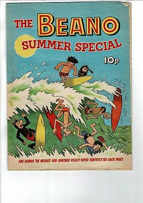 THE BEANO COMIC 1972 Summer Special DC THOMSON