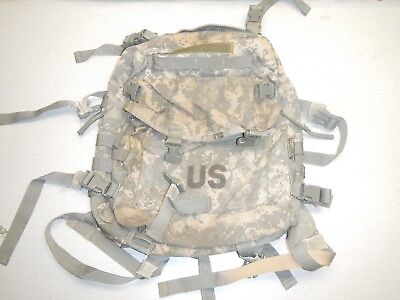 US Army Military Surplus Molle II Assault Pack Backpack ACU B/C Grade