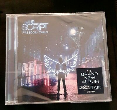 Freedom Child - The Script (Album) [CD] NEW SEALED BUT  CRACK IN CASE