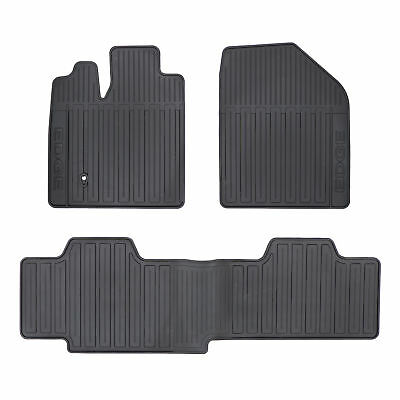 Oem New Front Rear All Weather Floor Mats Black   Ford Edge Tzaa