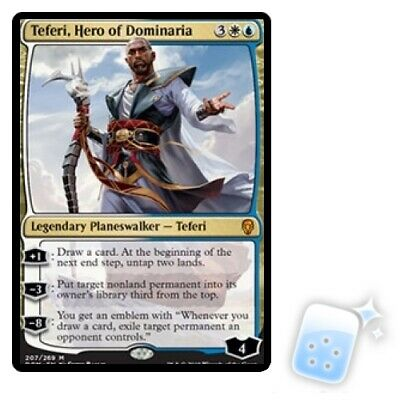TEFERI, HERO OF DOMINARIA Dominaria DOM Planeswalker Magic MTG MINT CARD