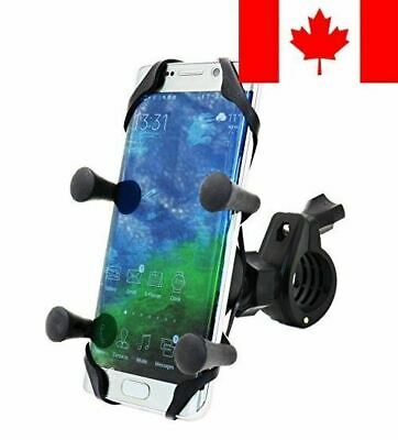 MOTOPOWER MP0609B Bike Motorcycle Cell Phone Mount Holder- For any Smartphone...