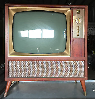 Vintage Antique Montgomery Wards Ward Airline Tv Television Wg-5221A