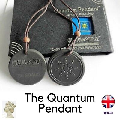 EMF Protection Negative Ion Pendant quantum science energy necklace scaler UK
