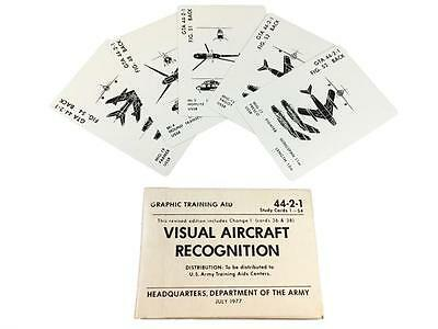 Visual Aircraft Recognition Cards from the mid 70s special forces devgru cia