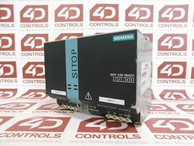 Siemens 6EP1 436-3BA00 SITOP Modular 20 Stabilized Power Supply - Used