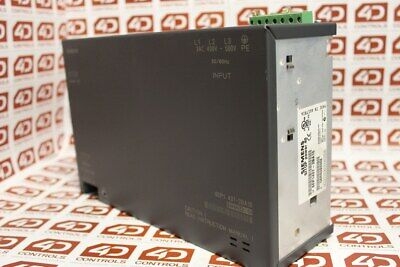 Siemens 6EP1 437-2BA10 SITOP Power 40 Stabilized Power Supply - Used