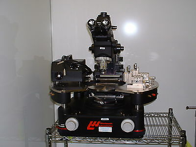 "Wentworth Labs  PML 8000 Analytical  Manual  8"" Probe Station  Wafer Prober Mint"