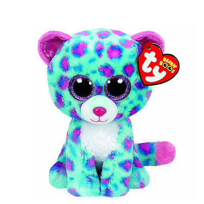 TY Beanie Boo Sydney the Leopard Regular Size (15cm) - New with tags - Authentic