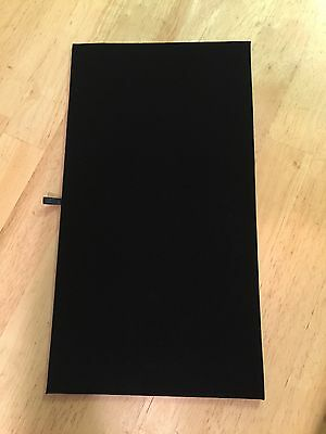 Black Velvet Jewelry Display Pad & Tray Liner Only- Set Of 5