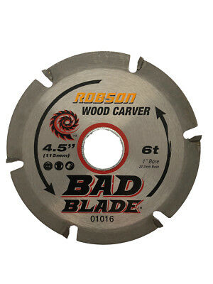 Wood carving Blade  suits 4.5 and 5 inch angle grinders