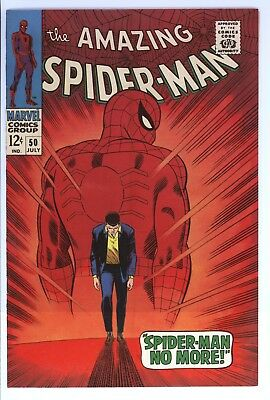 Amazing Spider-Man #50 Vol 1 Super High Grade 1st Appearance of the Kingpin