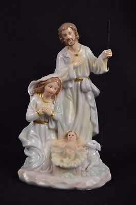 One Piece Christmas Nativity Scene Set Four Figurine, 180mm,Resin, Beautiful