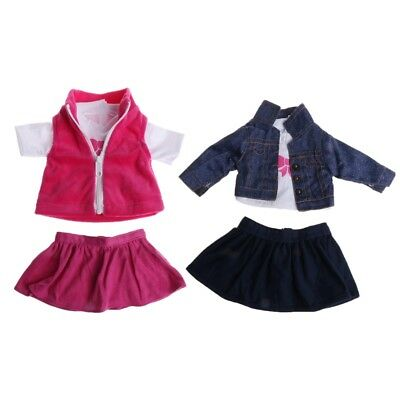 Doll Clothes Set Outfit Dress Clothes Set For 18'' Doll