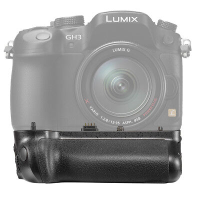 Neewer Battery Grip Replacement for DMW-BGGH3 for Panasonic Lumix GH3 GH4