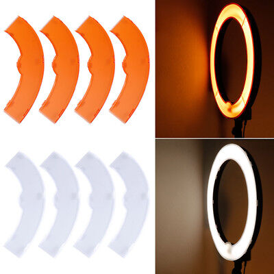 "Neewer Color Filter Set for Neewer 75W 600W 18"" Ring Fluorescent Flash Light"