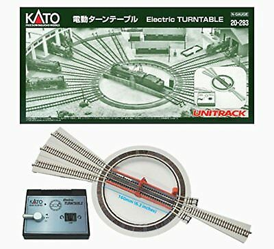 N scale gauge 20-283 electric turntable Free/Ship from Japan w/Tracking# New