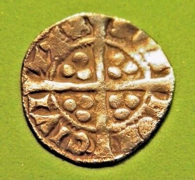 Edward 1St.(Long Shanks)  Silver Hammered Penny 1272-1307.(Md12) Nice Detail
