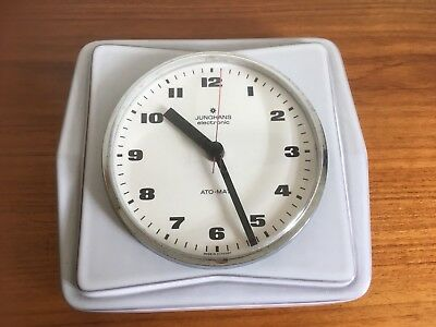 Junghans Ago-May Electronic Wall Clock 1960/70's Retro - West German