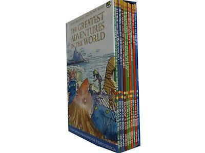 Illustrated Children's Classic 10 Story Books Collection Set Robinhood,Ali Baba