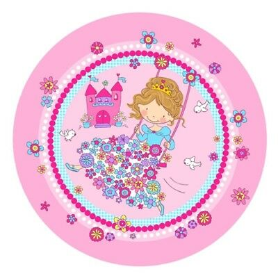 "Teller, Pappe rund  23 cm ""Princess Friends"" (0,22 EUR/)"
