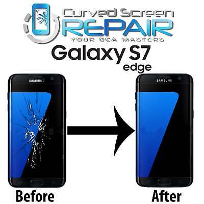 Samsung Galaxy S7 Edge Cracked Screen Repair Glass Replacement Mail In Service