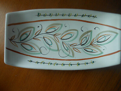 Bourne Denby Glyn Colledge Rectangular Dish Studio Art Pottery