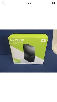 **NEW** WD Western Digital MY BOOK 6TB External Hard Drive WDBBGB0060HBK-NESN