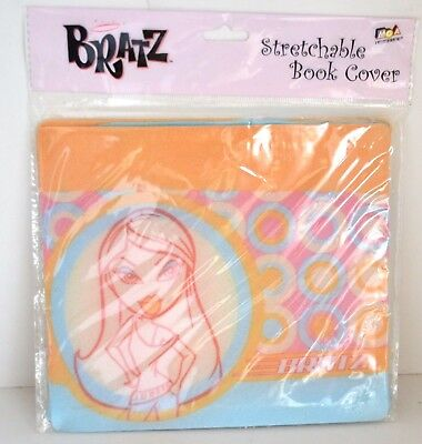Bratz Girls School Supply Book Cover Trendy Pink Blue Orange NEW 2004 COLLECT