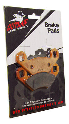 Outlaw Racing OR159 Front or Rear Sintered Brake Pads ATV Polaris 300 Sportsman