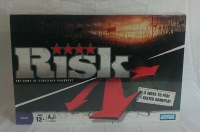 Risk: The Game of Strategic Conquest Board Game 2008 Hasbro Factory Sealed NEW
