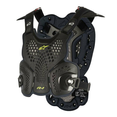 ALPINESTARS MX Off-Road A-1 Body Armor Roost Guard Chest Protector XL/2XL Black