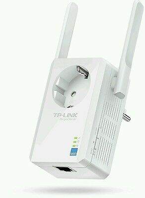 TP-LINK TL-WA860RE WLAN Repeater Verstärker 300 Mbits mit Steckdose + Antennen