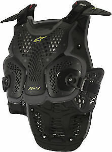 ALPINESTARS MX Off-Road A-4 Chest Protector Body Armor Roost Guard XS/SM Black