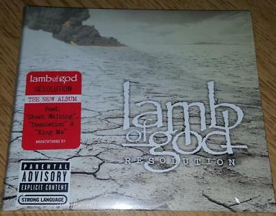 "LAMB OF GOD  ""Resolution""  PA/Explicit  NEW  (CD, 2012)"